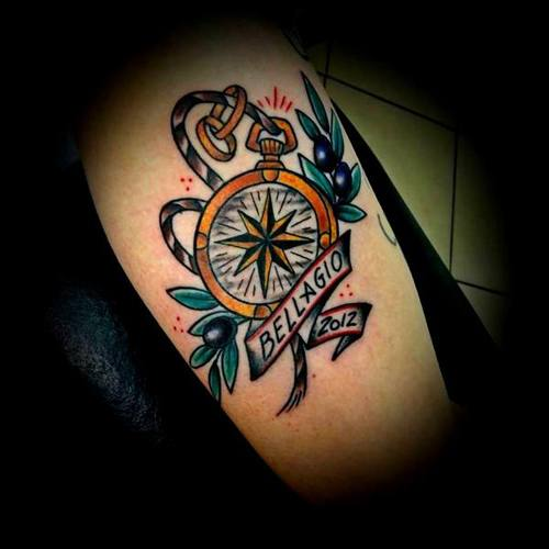 Compass-tattoo-vittoriatattoo