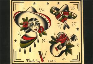 Flash-tattoo-la-muchacha