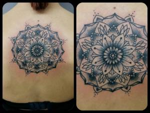 Mandala-flower-tattoo
