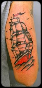 Sailboat-tattoos-by-vittoria