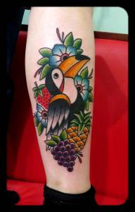 Toucan tattoo-tattoos by vittoria-vittoriatattoo