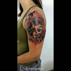 Woman-skull-tattoo