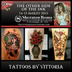 The Other Side of the Ink. Female Artist Tattoo Convention roma 14-15 marzo 2015