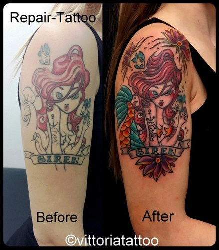 Siren-repair-tattoo-vittoriatattoo