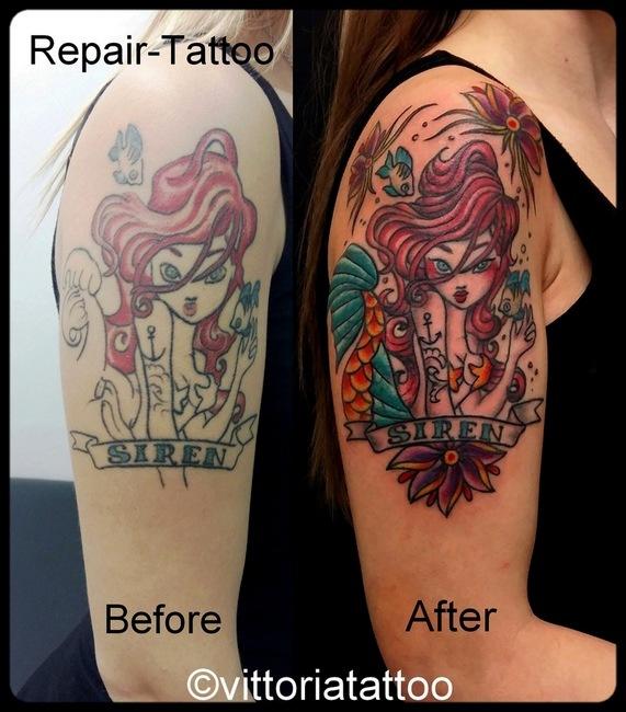 Siren-repair-tattoo-vittoriatattoo