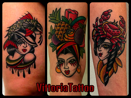 The V-GIRLZ tattoos