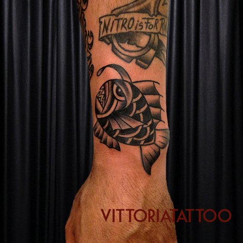 lantern fish tattoo|como Tattoo|vittoriatattoo