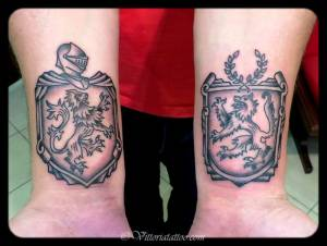 Coats-of-Arms tattoo