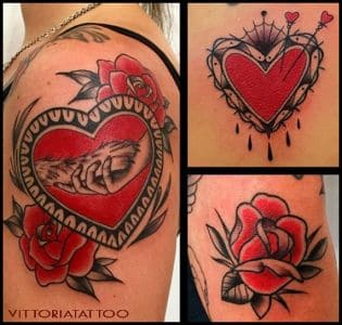 My Favourite-Black & Red Tattoos