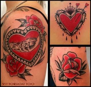 My Favourite Black & Red Tattoos|Tattoo Como Vittoriatattoo Via Volta 49 COMO