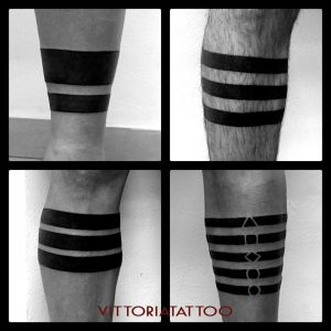 Tattoo Como |tattoo legs stripes| by vittoriatattoo