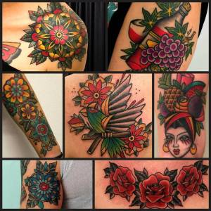 Tatuaggi by vittoriatattoo via volta 49 como