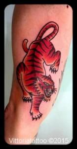 Tiger tattoo-tattoos by vittoria-tatuaggi como