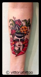 Carmen miranda-tattoo