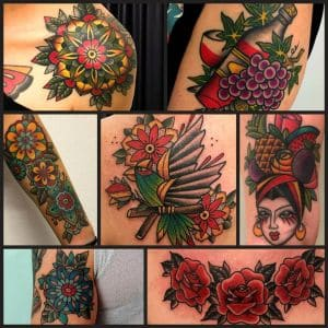 Como Tattoo-tatuaggi colorati-by vittoriatattoo