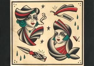 Femmes fatales flash tattoo 2015