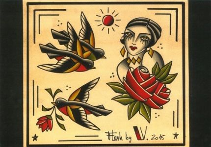 flash-tattoo-romantique