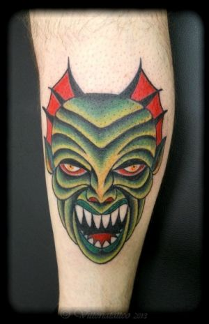 green-monster-vittoriatattoo-forever-yours