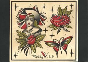 Miss rose-flash tattoo-2015