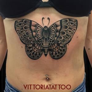 butterfly tattoo-Como Tattoo shop Vittoria