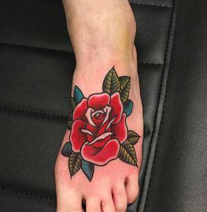 old school rose tattoo tattoo como vittoriatattoo