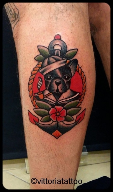 sailor dog tattoo-tattoo como vittoriatattoo