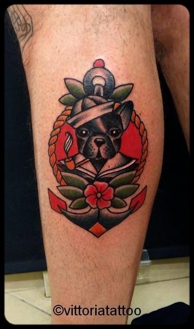 sailor dog tattoo-tattoo como vittoriatattoo