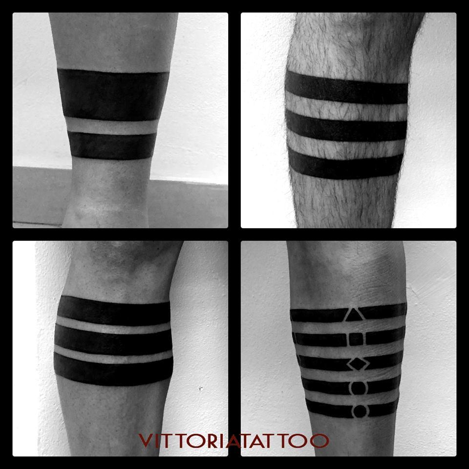 Serie Legs Stripes by Vittoria|tattoo como