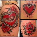 Como Tattoo|Black & Red Tattoos|vittoriatattoo