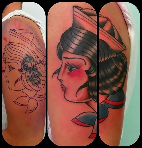cover up sailor girl