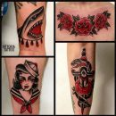 Tattoo Como|black and red tattoos|vittoria