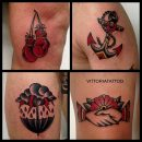 black & red Tattoos|tattoo como|vittoriatattoo