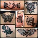 Black & White Tattoos by vittoria tattoo