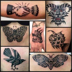 Como Tattoo-Black & White Tattoos by vittoria tattoo