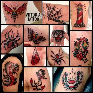 tatuaggio colorato