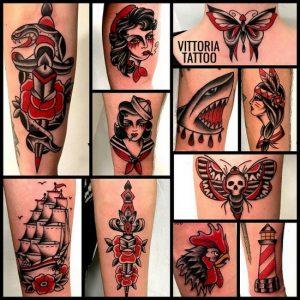 tatuaggi colorati by vittoriatattoo
