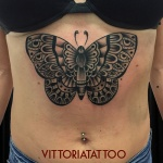 old school butterfly tattoo|Tattoo Como|vittoriatattoo