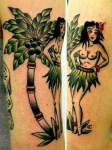 pin-up-hawaienne