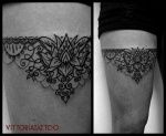 Tattoo Ornamental Garter