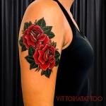 Roses Tattoos|Tattoo Como|via alessandro volta 49 Como