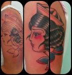 cover with sailor girl-tattoo