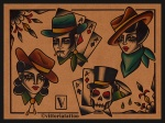 western tattoo flash-tattoo flash by vittoriatattoo